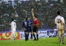 تقابل ملوان و داماش در شهرآورد لیگ یک فوتبال