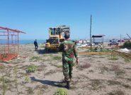رفع تصرف ۱۰۰۰ متر از اراضی ملی و تخریب یک واحد مسکونی غیر مجاز در منطقه آزاد انزلی