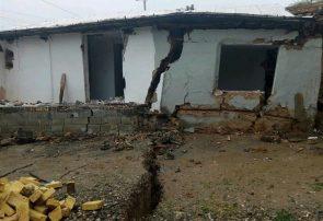 بارش باران موجب قطع راه ارتباطی ۳ روستا و رانش زمین در گیلان شد