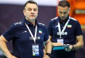 کولاکوویچ: برای ما خیلی سخت است که در ۱۵ روز ۱۱ بازی کنیم/ همه بازیکنان ایران والیبال را به خوبی درک میکنند