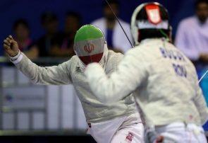 درخشش شمشیرباز گیلانی در مسابقات جایزه بزرگ