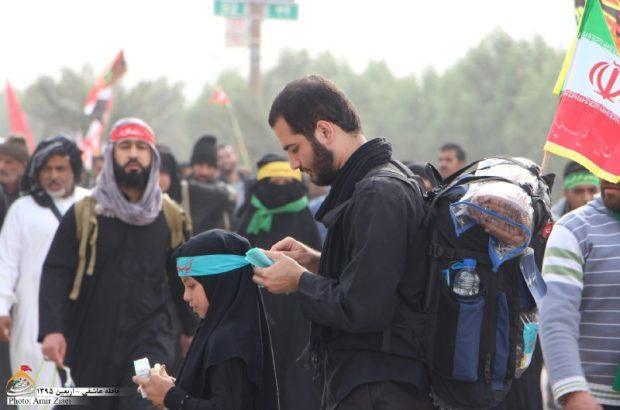 تصاویر عکاس انزلیچی از راهپیمایی اربعین حسینی