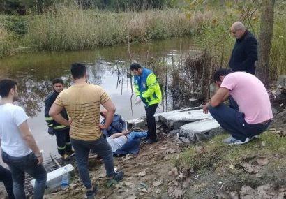 سقوط دیوار بتنی ماهیگیر جوان اهل انزلی را به کام مرگ فرستاد