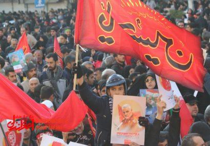 اختصاصی/ گزارش تصویری از مراسم تشییع سپهبد شهید حاج قاسم سلیمانی در تهران