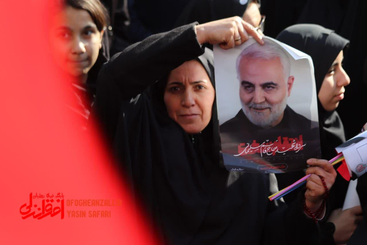 نامگذاری بلوار سردار شهید سپهبد قاسم سلیمانی در خمام