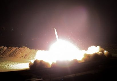 #انتقام_سخت آغاز شد/حملات سنگین موشکی سپاه به پایگاه آمریکایی عینالاسد