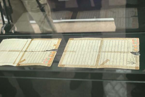 رونمایی از وصیت نامه جهان پهلوان تختی در سالروز افتتاح موزه ورزش